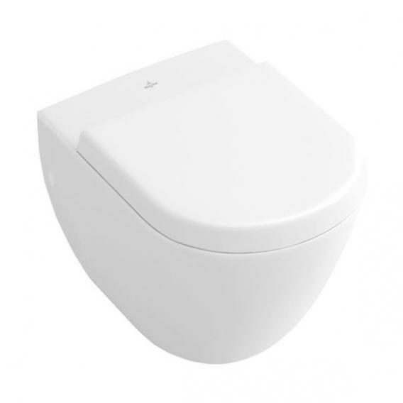 Villeroy & Boch Subway Wand-Tiefspül-WC Compact weiß, mit CeramicPlus