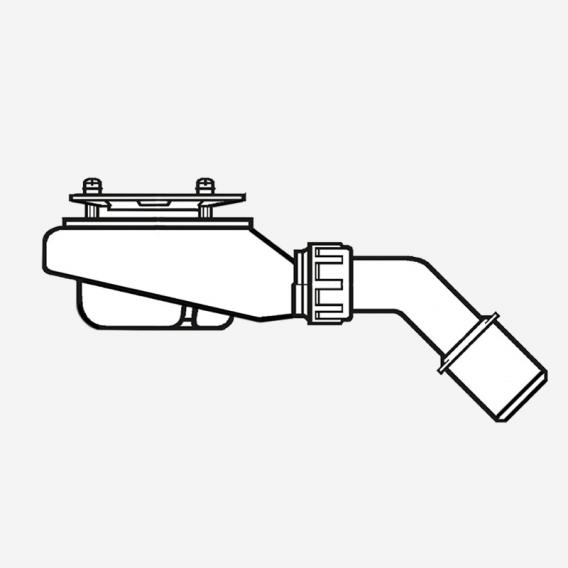 Villeroy & Boch Tempoplex Plus Compact Ablaufgarnitur Ø 90 mm weiß