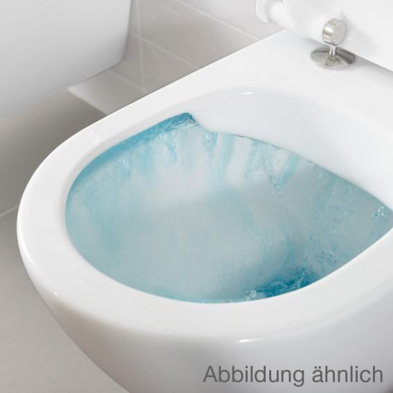 Villeroy & Boch Venticello Tiefspülklosett, offener Spülrand, DirectFlush weiß mit CeramicPlus