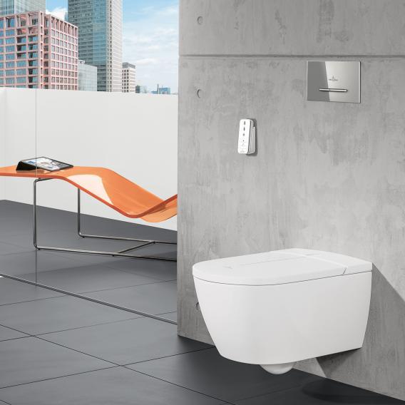 Villeroy & Boch ViClean I100 Dusch-WC, offener Spülrand, DirectFlush