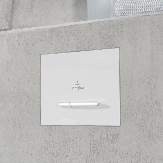 Villeroy & Boch ViConnect E300 WC-Betätigungsplatte weiß