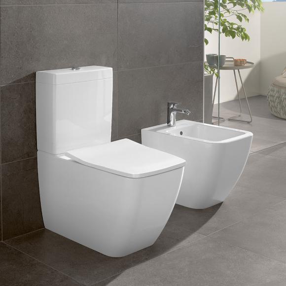 Villeroy & Boch Venticello Stand-Tiefspül-WC für Kombination, offener Spülrand, 4612R0R1