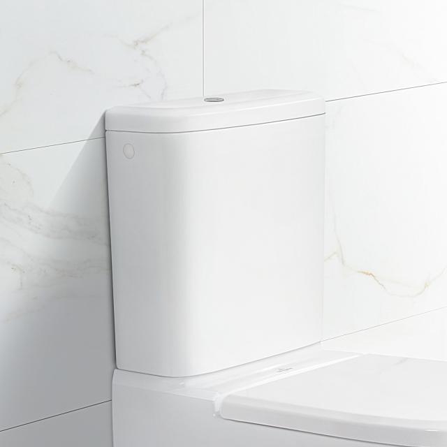 Villeroy & Boch Antheus Spülkasten für Aufsatzmontage, Zulauf seitlich/hinten stone white, mit CeramicPlus