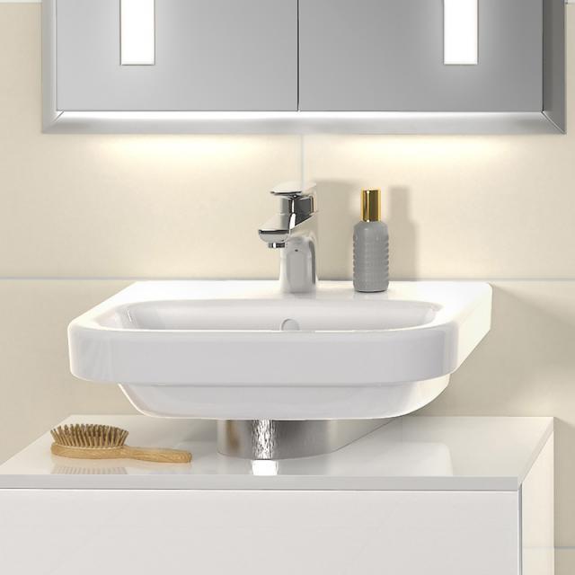 Villeroy & Boch Architectura Handwaschbecken weiß mit CeramicPlus, mit Überlauf