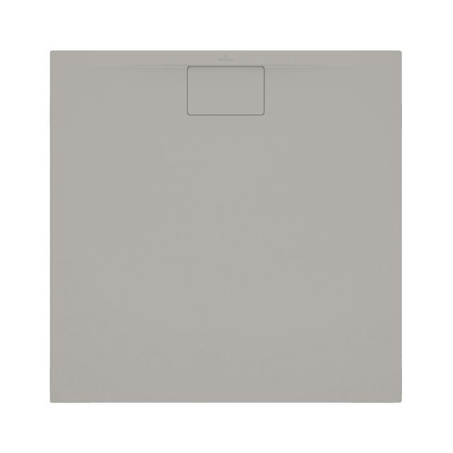 Villeroy & Boch Architectura MetalRim Duschwanne, superflach Randhöhe 1,5 cm grau matt