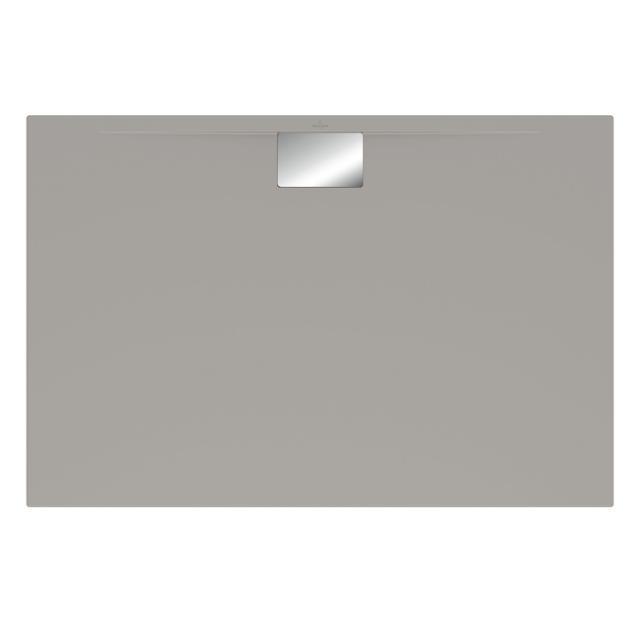 Villeroy & Boch Architectura MetalRim Duschwanne, flach Randhöhe 4,8 cm grau matt