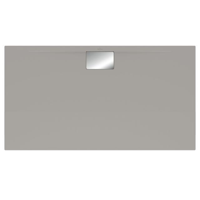 Villeroy & Boch Architectura MetalRim Duschwanne, Randhöhe 4,8 cm grau matt