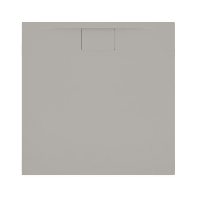 Villeroy & Boch Architectura MetalRim superflach Duschwanne, Randhöhe 1,5 cm grau matt
