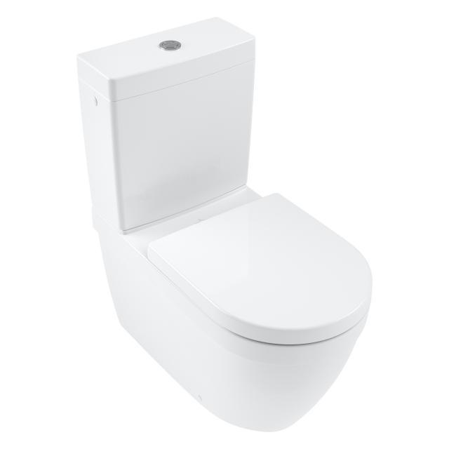 Villeroy & Boch Architectura Stand-Tiefspül-WC spülrandlos weiß, mit CeramicPlus