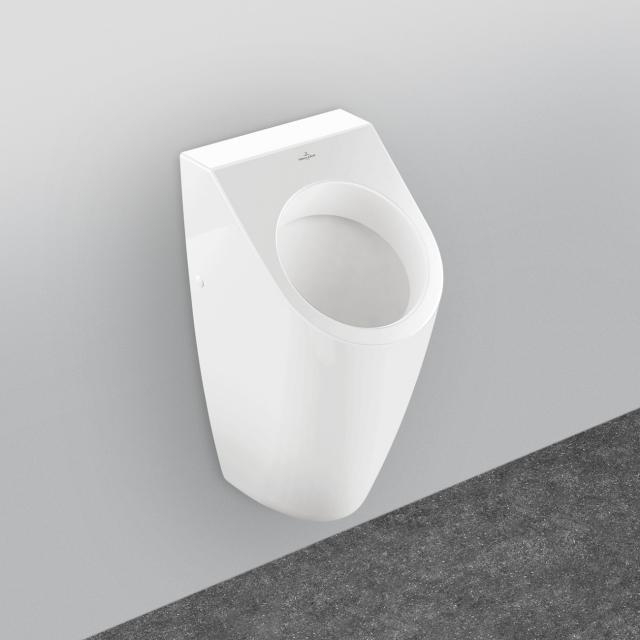 Villeroy & Boch Architectura Urinal, Zulauf hinten weiß mit CeramicPlus, mit Zielobjekt