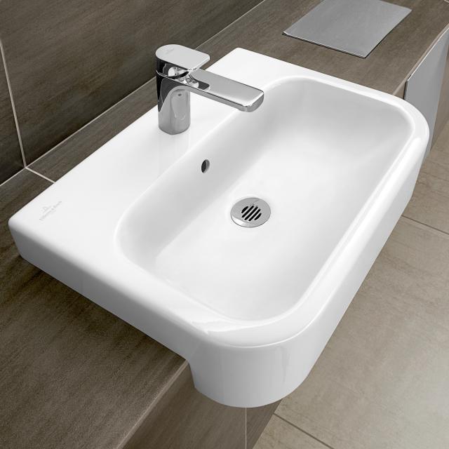 Villeroy & Boch Architectura Vorbauwaschtisch weiß mit CeramicPlus