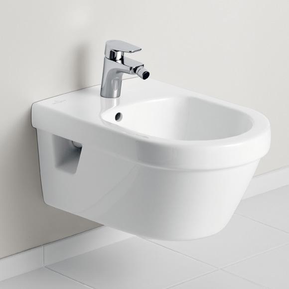 Villeroy & Boch Architectura Wand-Bidet weiß, mit CeramicPlus