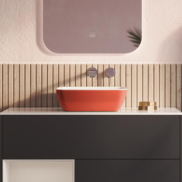 Villeroy & Boch Artis Aufsatzwaschtisch rust/weiß
