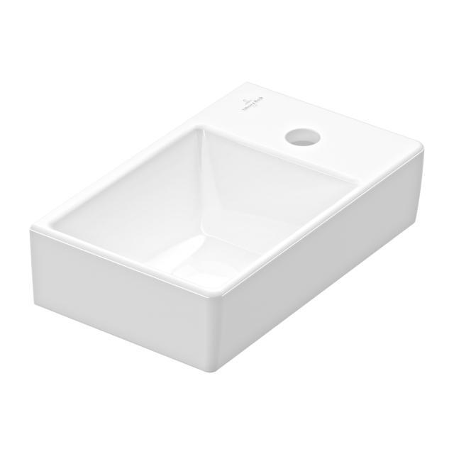 Villeroy & Boch Avento Handwaschbecken weiß mit CeramicPlus