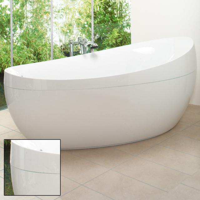Villeroy & Boch Aveo Freistehende Oval-Badewanne weiß