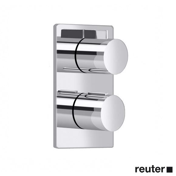 Villeroy & Boch Cult/Just UP-Thermostat mit Einweg-Mengenregulierung chrom
