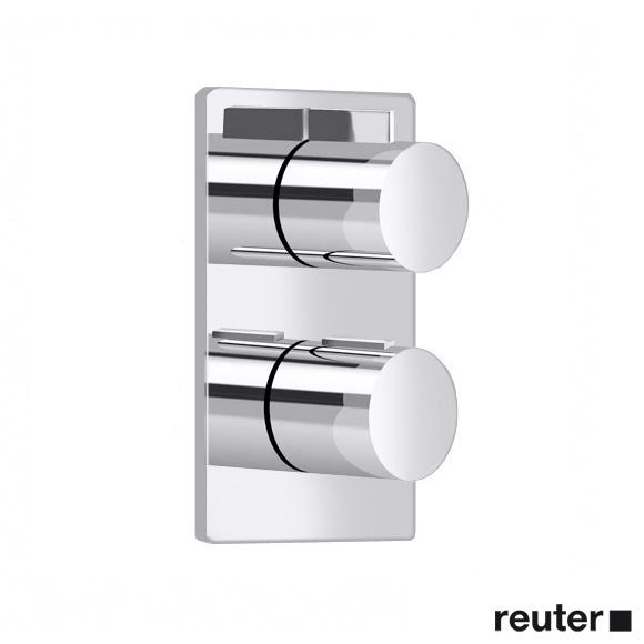 Villeroy & Boch Cult UP-Thermostat mit Zweiwege-Mengenregulierung chrom