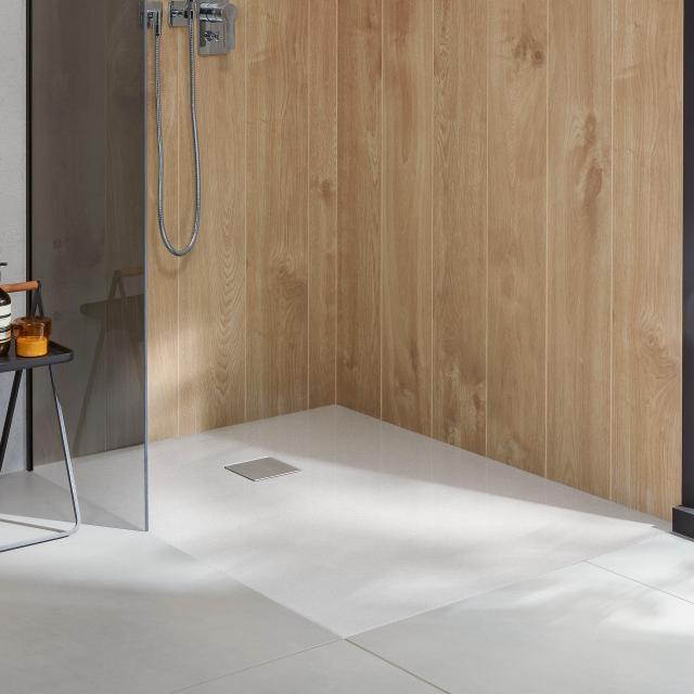 Villeroy & Boch Embrace Duschwanne Komplett-Set weiß mit rutschhemmender Oberfläche Vilbogrip