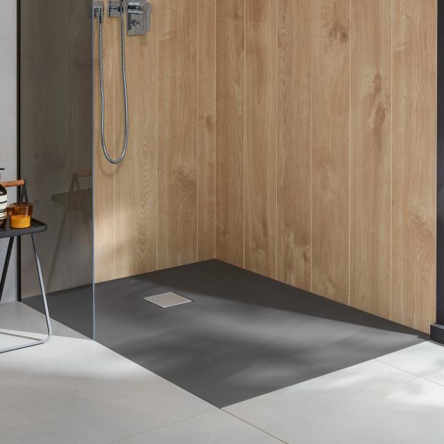 Villeroy & Boch Embrace Duschwanne grey matt