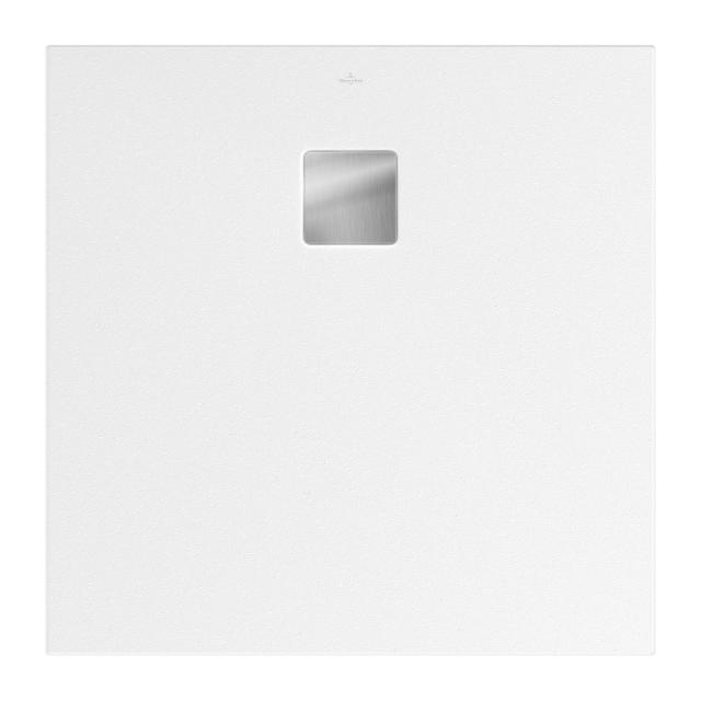 Villeroy & Boch Embrace Duschwanne weiß, mit rutschhemmender Oberfläche VilboGrip