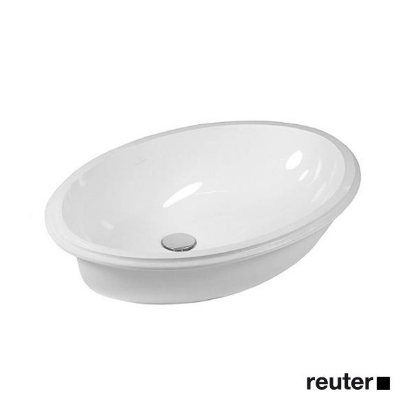 Villeroy & Boch Evana Unterbauwaschtisch weiß mit CeramicPlus mit Überlauf