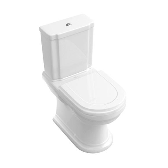 Villeroy & Boch Hommage Stand-Tiefspül-WC für Kombination weiß, mit CeramicPlus