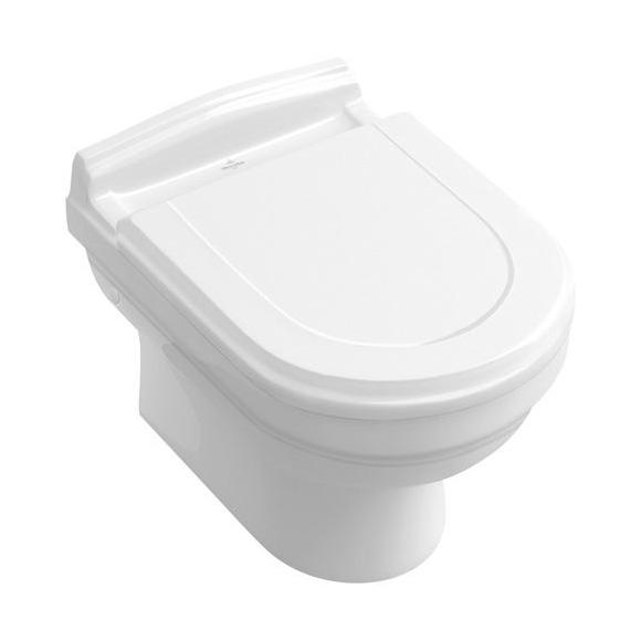 Villeroy & Boch Hommage Wand-Tiefspül-WC weiß, mit CeramicPlus