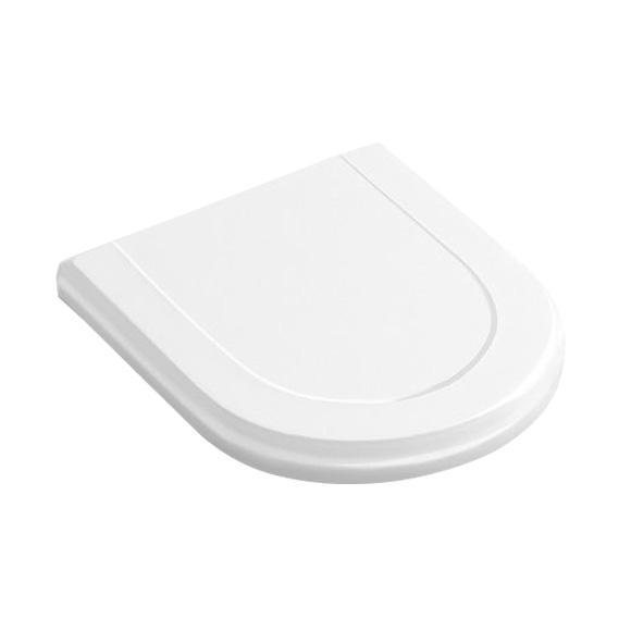 Villeroy & Boch Hommage WC-Sitz weiß mit Quick Release und Absenkautomatik soft-close