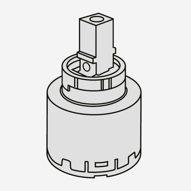 Villeroy & Boch Kartusche, für Niederdruck-Einhand-Spültischbatterie