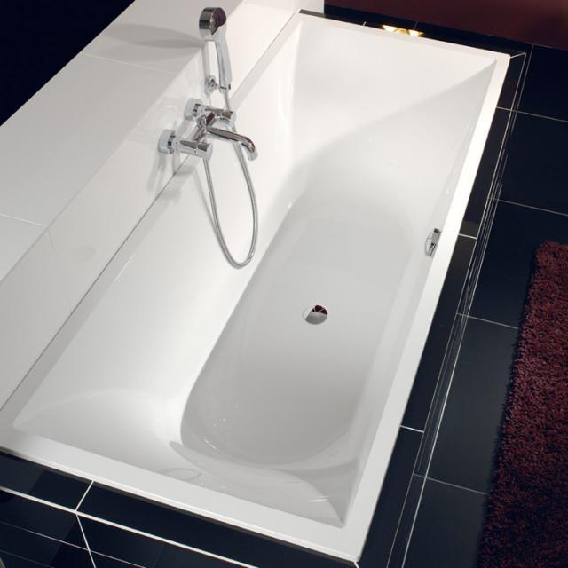 Villeroy & Boch La Belle Rechteck-Badewanne, Einbau weiß