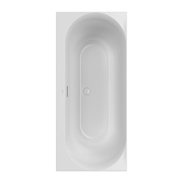 Villeroy & Boch Loop & Friends Duo Rechteck-Badewanne, Einbau weiß