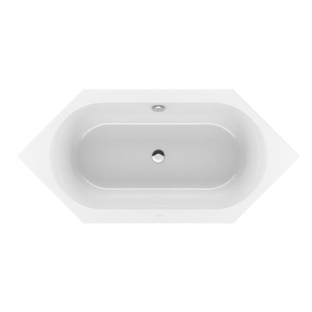 Villeroy & Boch Loop & Friends Duo Sechseck-Badewanne, Einbau weiß