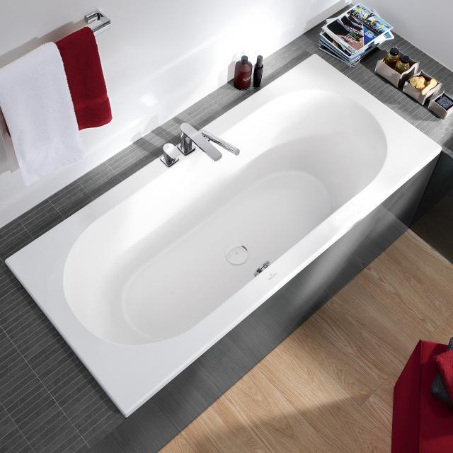 Villeroy & Boch Loop & Friends Solo Rechteck-Badewanne, Einbau weiß