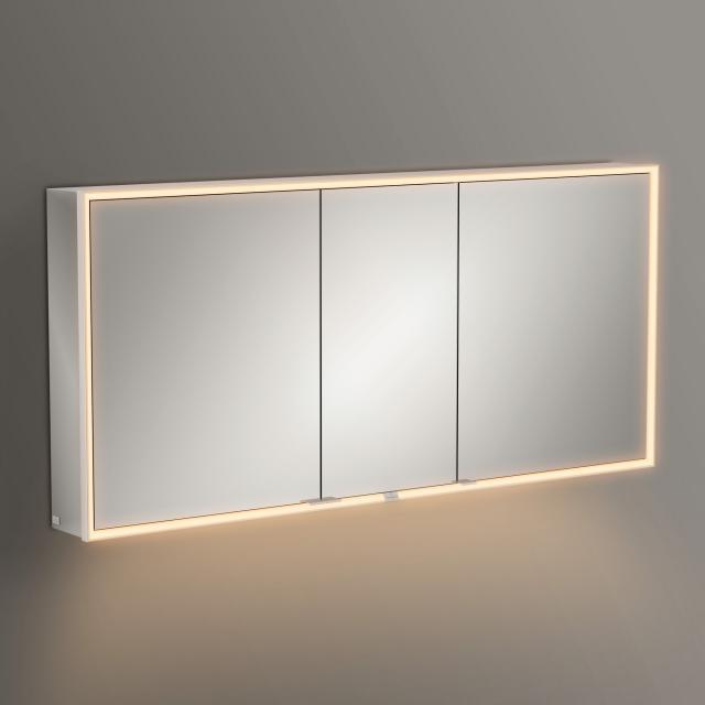 Villeroy & Boch My View Now Aufputz-Spiegelschrank mit LED-Beleuchtung mit 3 Türen mit Sensordimmer