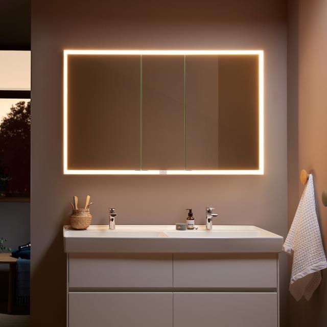 Villeroy & Boch My View Now Einbau-Spiegelschrank mit LED-Beleuchtung mit 3 Türen SmartHome fähig