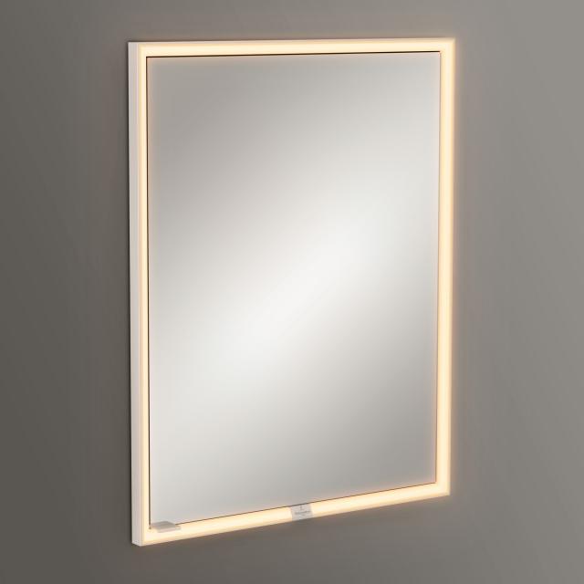 Villeroy & Boch My View Now Einbau-Spiegelschrank mit LED-Beleuchtung mit 1 Tür Anschlag rechts, mit Sensordimmer