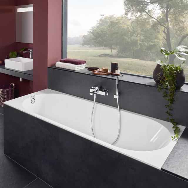 Villeroy & Boch Oberon 2.0 Rechteck-Badewanne, Einbau weiß