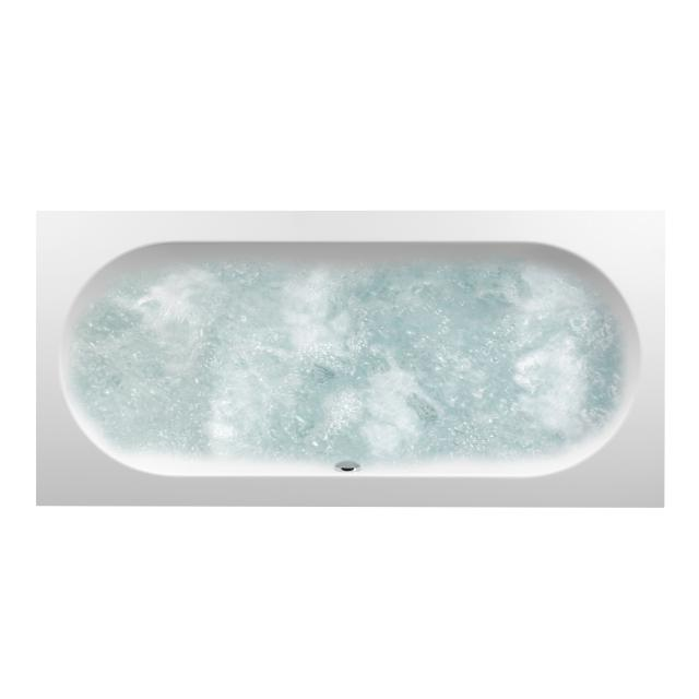 Villeroy & Boch Oberon Duo Rechteck-Whirlwanne weiß mit Special CombiPool Invisible