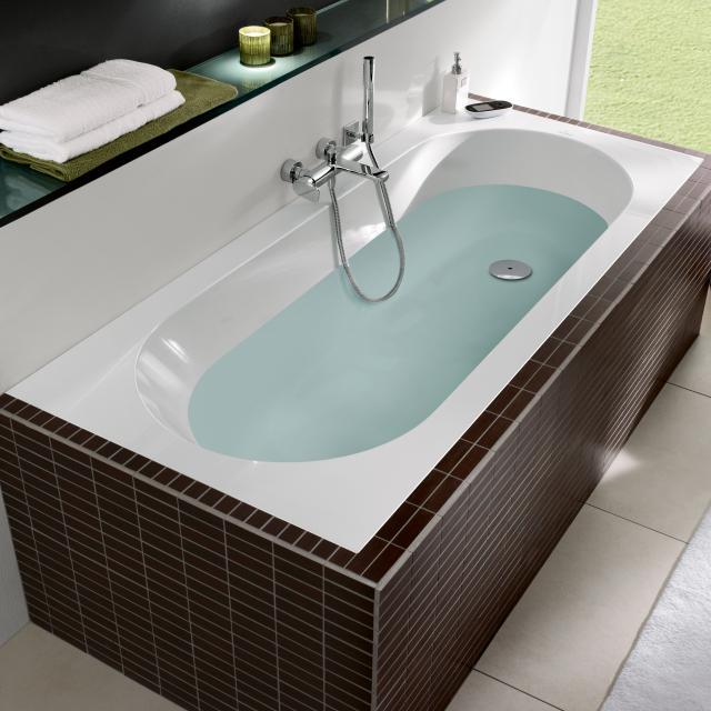 Villeroy & Boch Oberon Rechteck-Badewanne, Einbau weiß