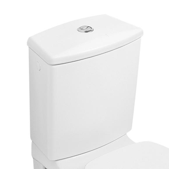 Villeroy & Boch Omnia classic / O.novo Spülkasten für aufgesetzte Montage weiß mit CeramicPlus