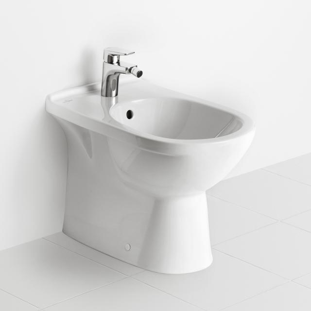 Villeroy & Boch O.novo Stand-Bidet weiß, mit CeramicPlus