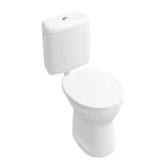 Villeroy & Boch O.novo Stand-Tiefspül-WC, Abgang senkrecht weiß, Abgang senkrecht