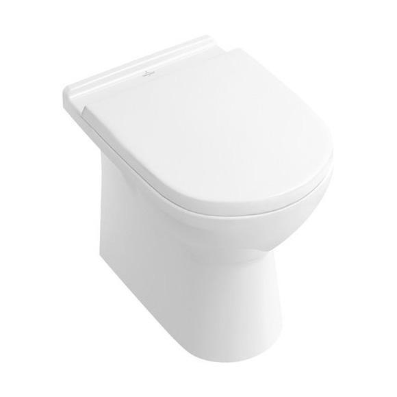 Villeroy & Boch O.novo Stand-Tiefspül-WC weiß mit CeramicPlus
