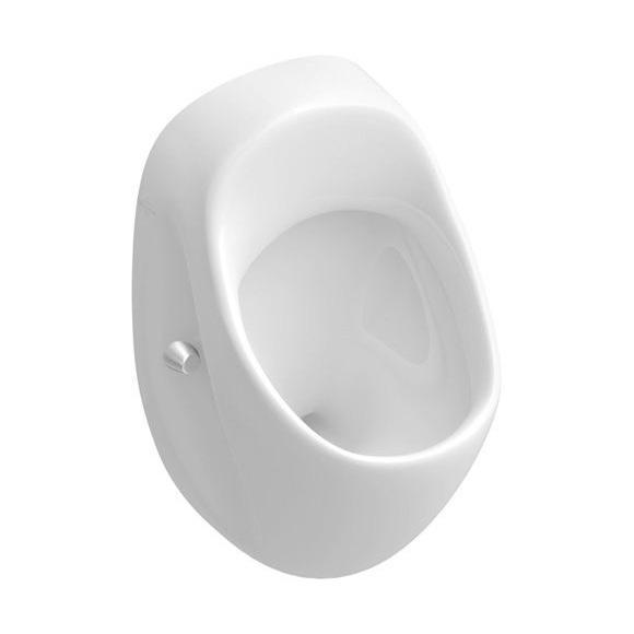 Villeroy & Boch O.novo Urinal weiß mit CeramicPlus, Zulauf hinten