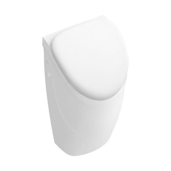 Villeroy & Boch O.novo Urinal, Zulauf hinten für Deckel, weiß mit CeramicPlus