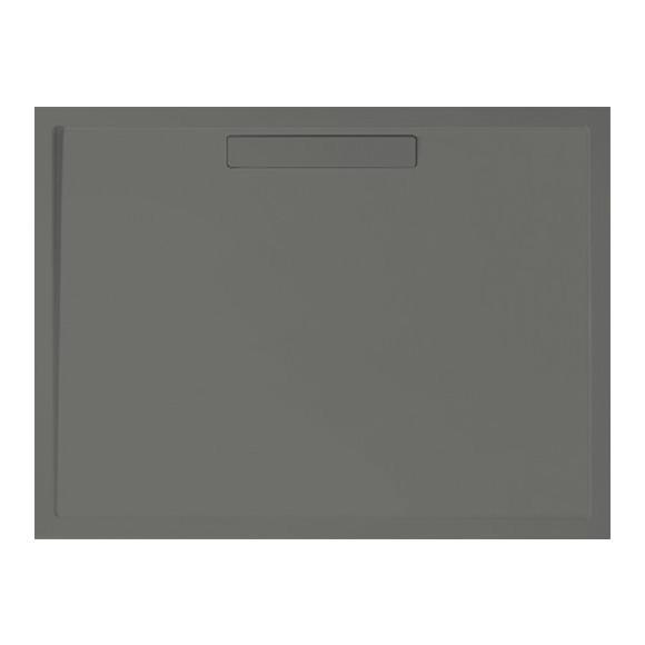 Villeroy & Boch Squaro Rechteck-Duschwanne grau matt