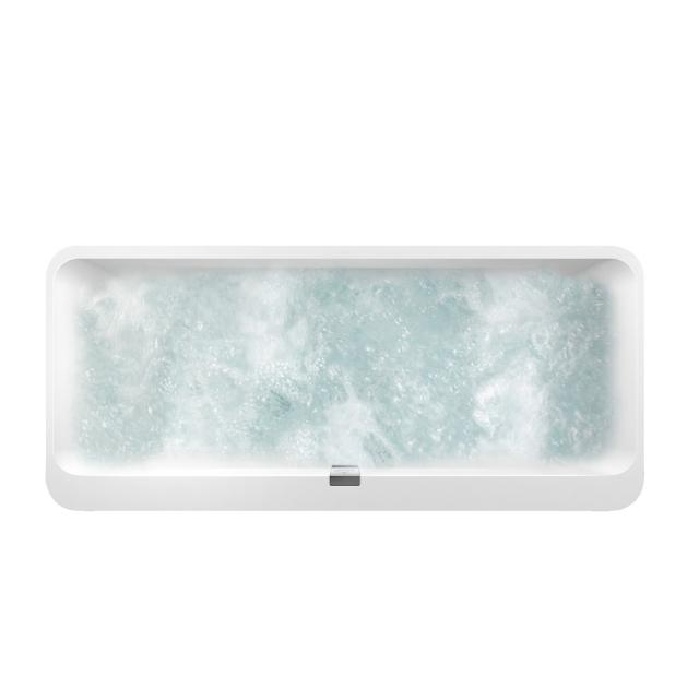 Villeroy & Boch Squaro Edge 12 Duo Oval-Whirlwanne weiß mit CombiPool Entry