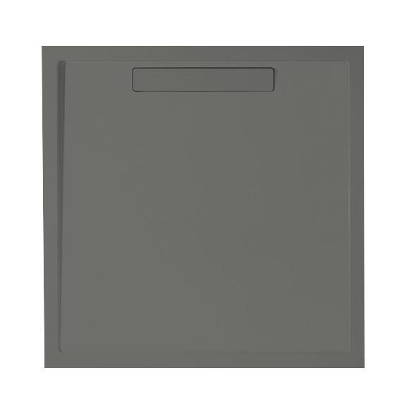 Villeroy & Boch Squaro Super Flat Rechteck-Duschwanne grau matt