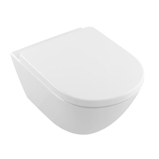 Villeroy & Boch Subway 2.0 Comfort Wand-Tiefspül-WC offener Spülrand, DirectFlush weiß, mit CeramicPlus