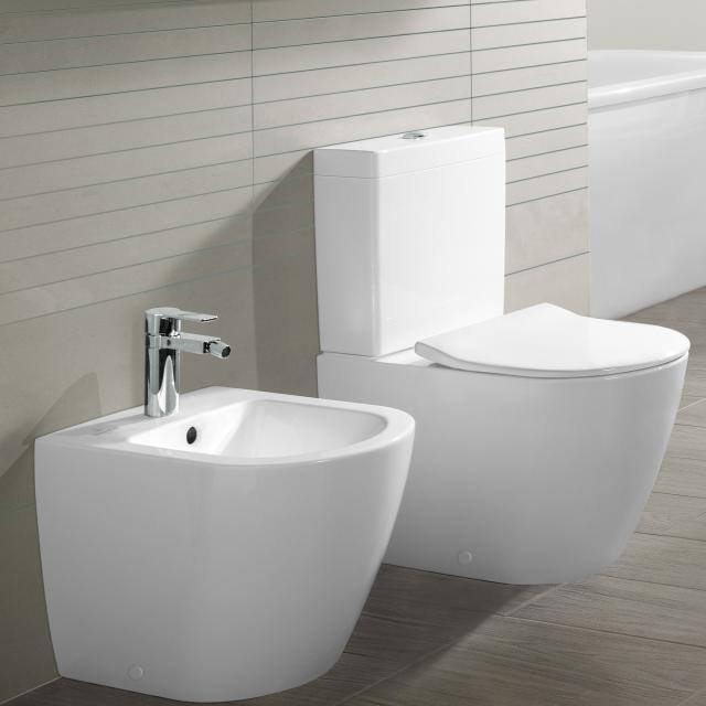 Villeroy & Boch Subway 2.0 Stand-Tiefspül-WC für Kombination, offener Spülrand weiß